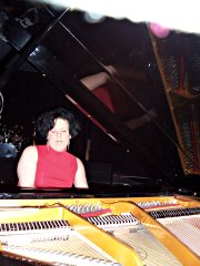 Amy playing Solo Piano